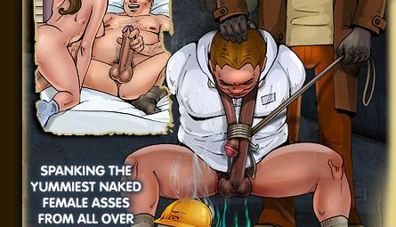 Cartoon bondage torture drawings