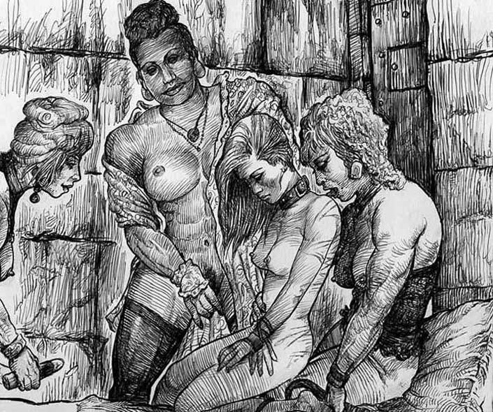 Bdsm drawn fantasies