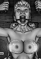 Slasher fansadox 442 Creepy - She's crying very much master, learning lesson well
