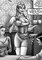 erenisch bdsm comics - sluts in training 3 - the dairy